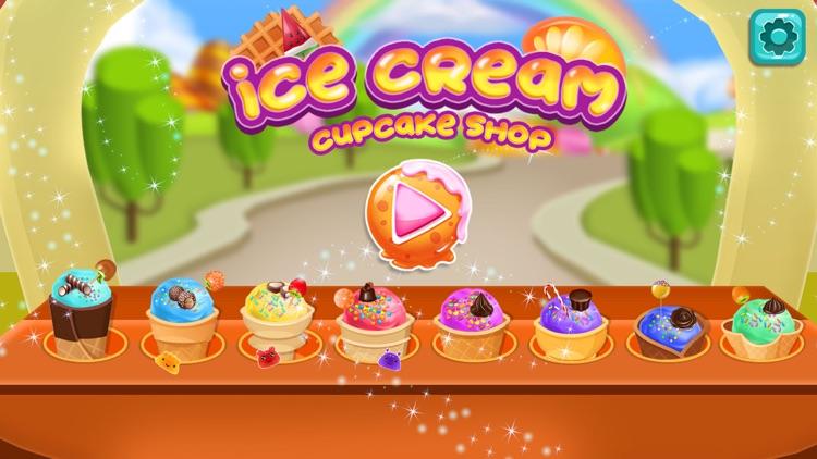 Cone Ice Cream Cupcake Baker screenshot-0