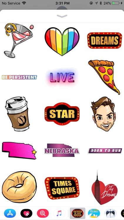 Andrew Rannells Sticker Pack