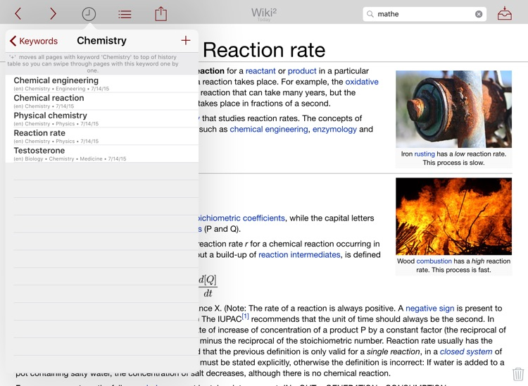 Wiki² - Wikipedia for iPad screenshot-3