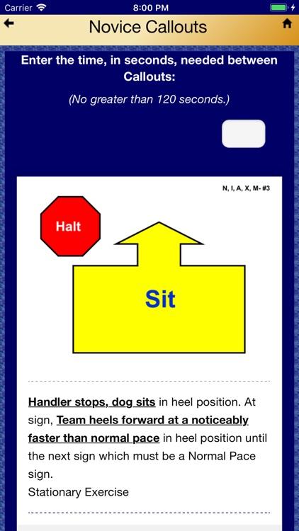 Pocket Rally Dog Obedience screenshot-7