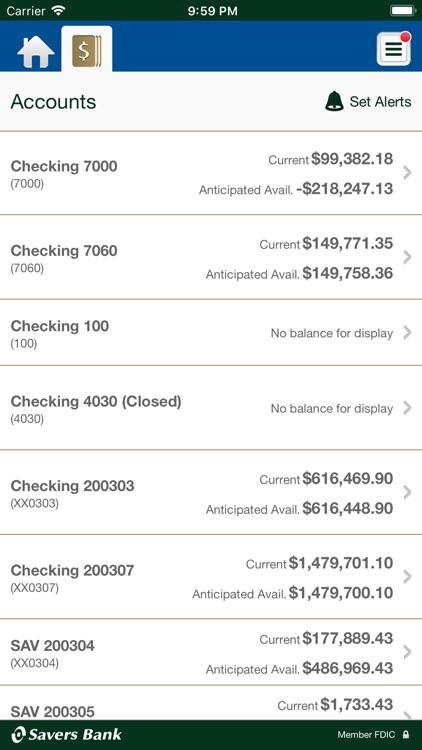Savers Business Mobile Banking screenshot-3