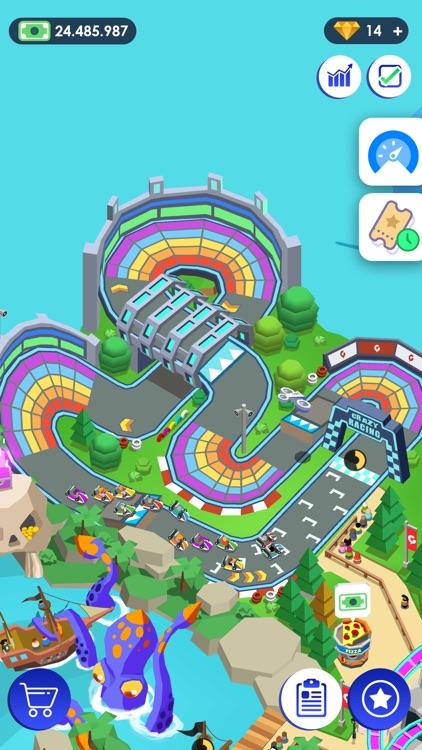 Idle Theme Park - Tycoon Game screenshot-4