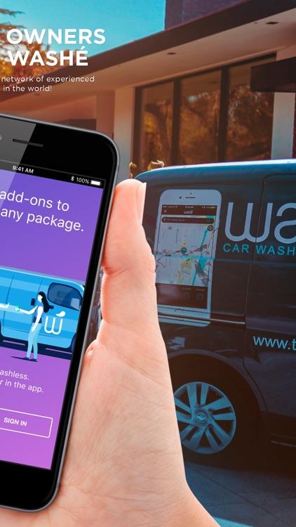 Washe - Car Washes Delivered
