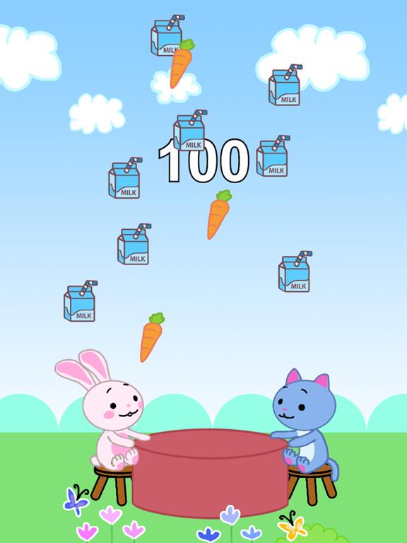 Ipad Screen Shot Grabby Food: Easy Fun 2