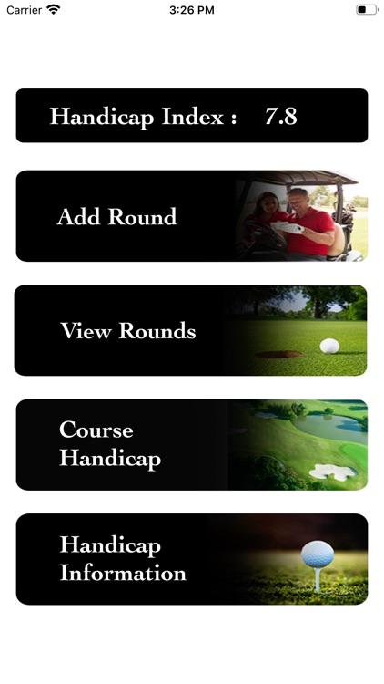 Golf Handicap Calculator by WG