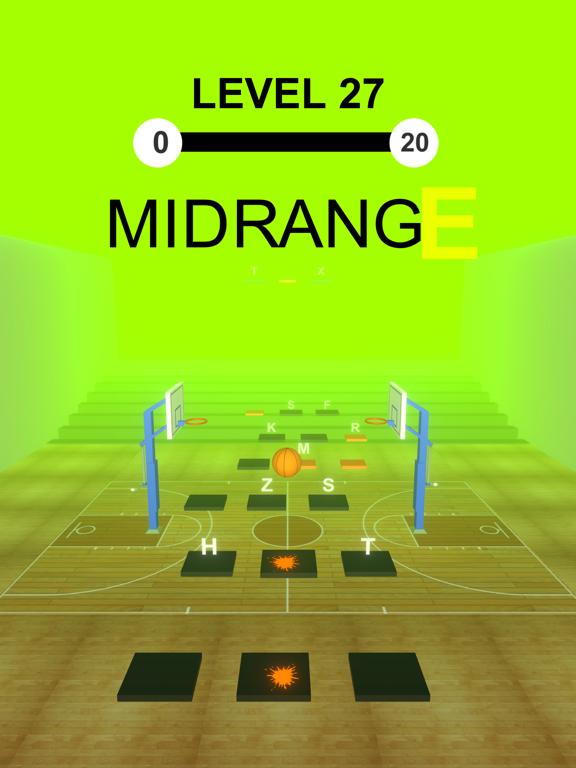 Basket Ball Hop: Word Dribble screenshot 4