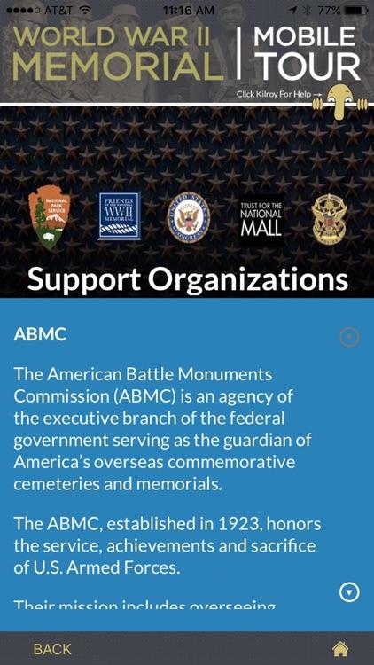 WWII Memorial screenshot-4