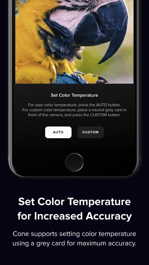 Cone - Live Color Picker App 截图
