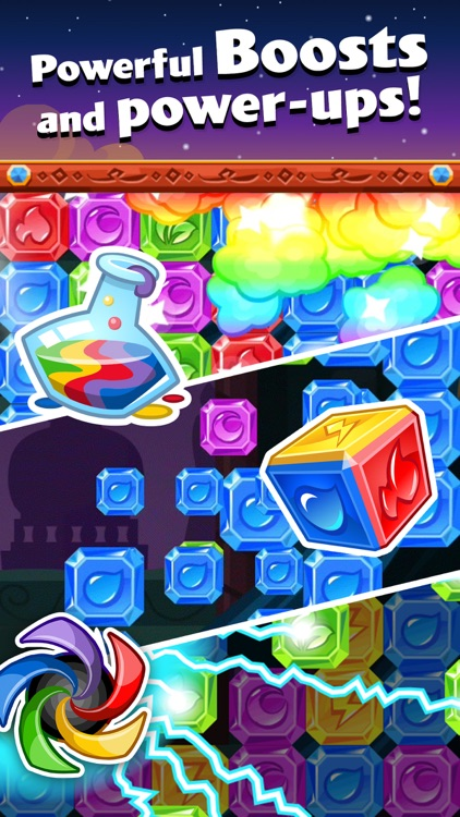 Diamond Dash: Gem Puzzle Game