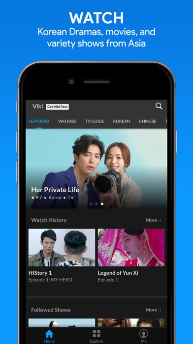 Viki: Asian TV Dramas & Movies by ViKi Inc  (iOS, United States