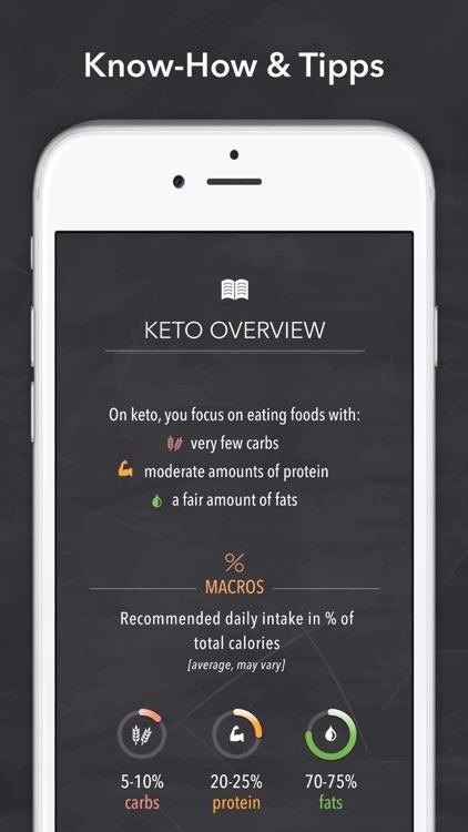 Keto Diet Recipes + Carb App screenshot-6