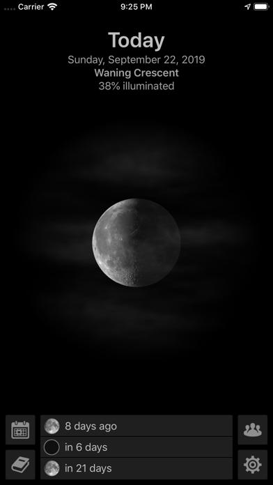 Mooncast review screenshots