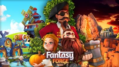最新スマホゲームのFantasyForge:王国を帝国に作り上げようが配信開始!