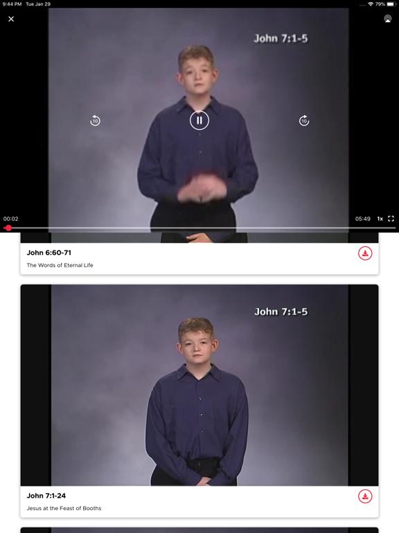 Deaf Bible screenshot