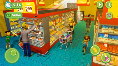 Supermarket Shopping Girl Game screenshot #2