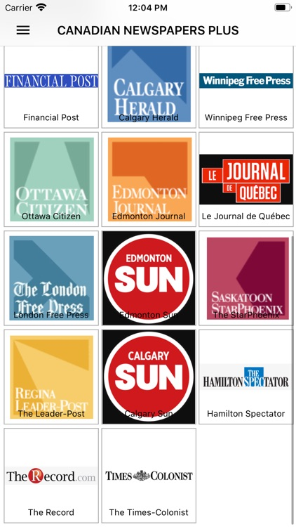 Canadian Newspapers Plus screenshot-4