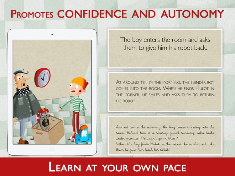Teach Me to Read with Hulot screenshot-3
