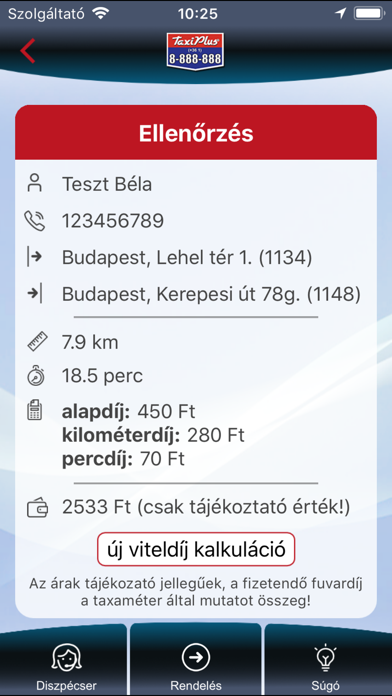 Screenshot for TaxiPlus Rendelés in Russian Federation App Store