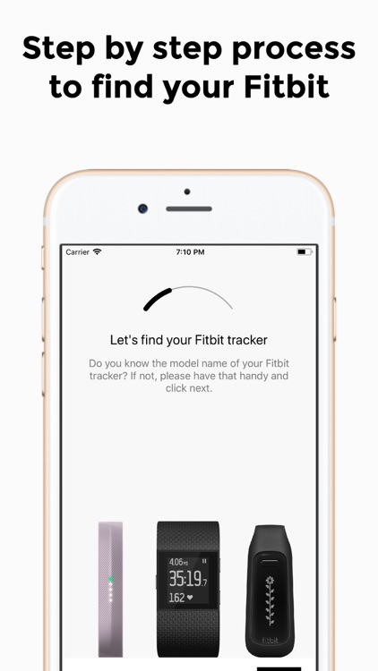 Finder for Fitbit screenshot-4
