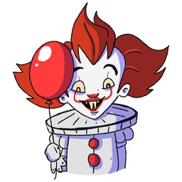 Penny The Clown Stickers