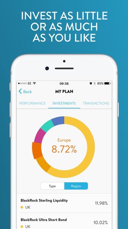Wealthify Saving & Investments screenshot-3