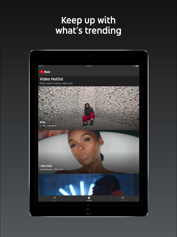 YouTube Music-ipad-3