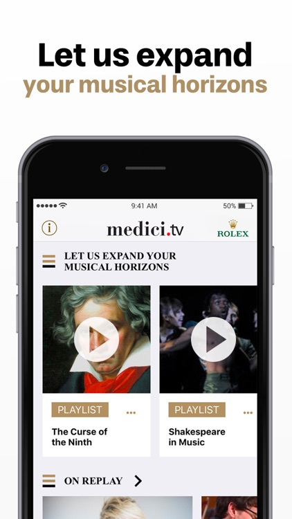 medici tv, classical music by MUSEEC