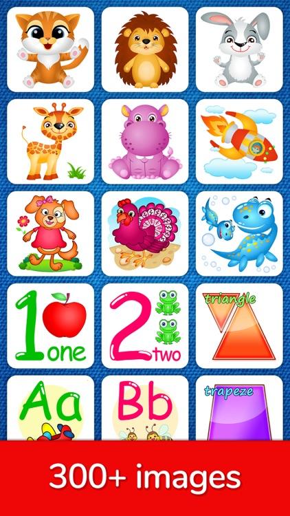 123 Kids Fun Puzzle Blue Games screenshot-6
