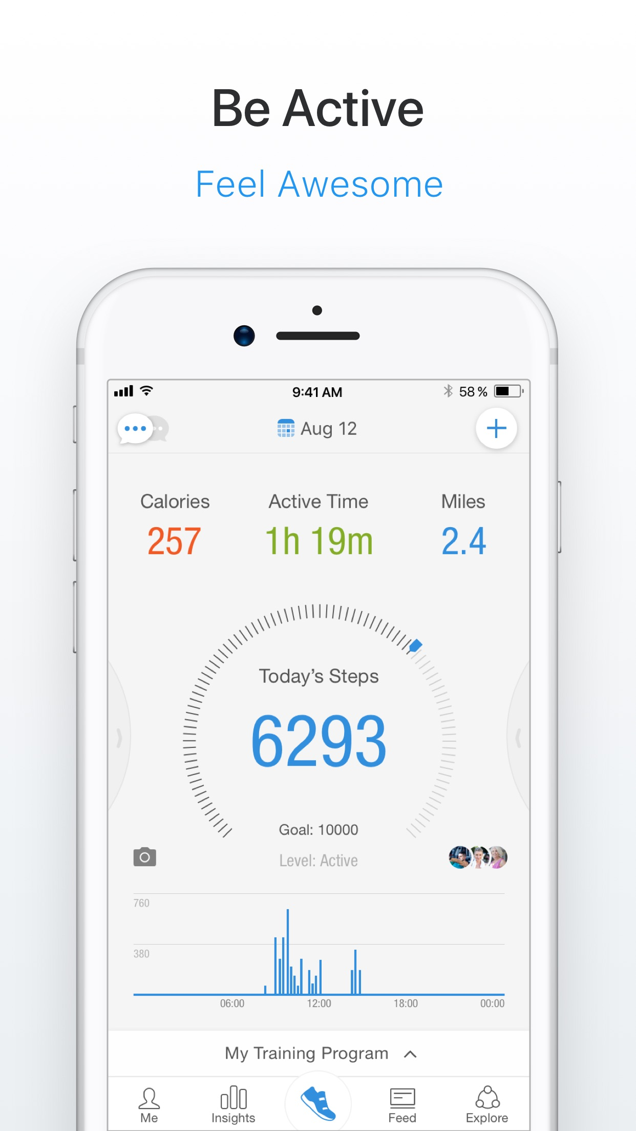 Pacer Pedometer & Step Tracker Screenshot