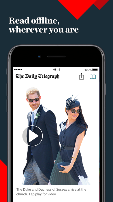 Telegraph Newspaper Edition UK Screenshot