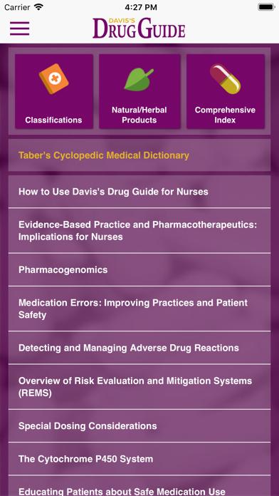 Davis's Drug Guide For Nurses Screenshot