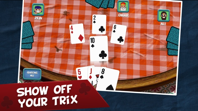 Trix Sheikh El Koba Card Game screenshot-4