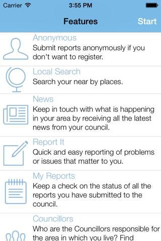NZ - My Council Services - náhled