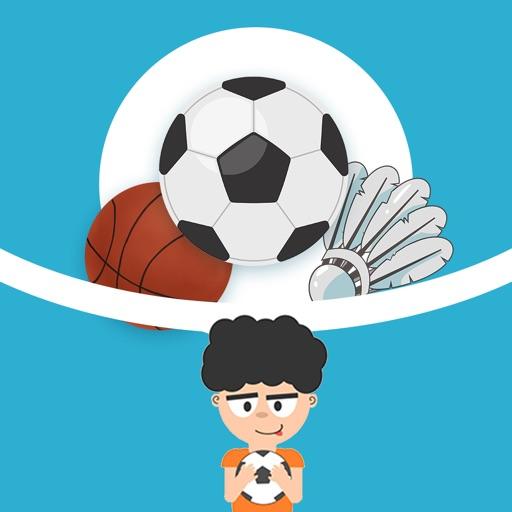 Love football boy Stickers