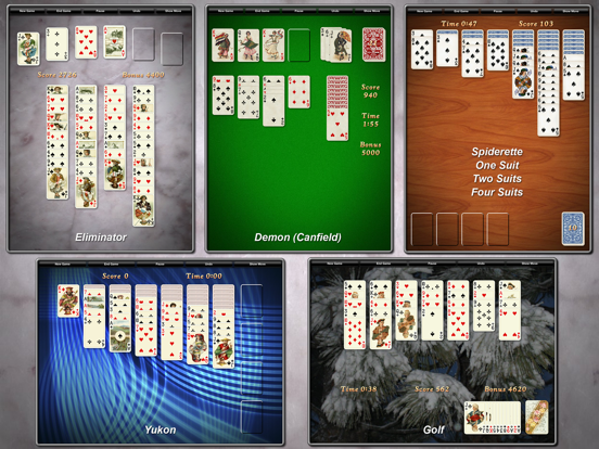 Ipad Screen Shot Solitaire City 4