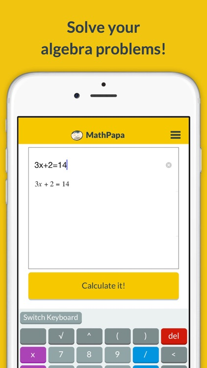 MathPapa - Algebra Calculator