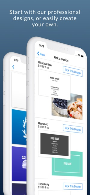 e6b6af98ee3 Business Card Maker & Logo App on the App Store