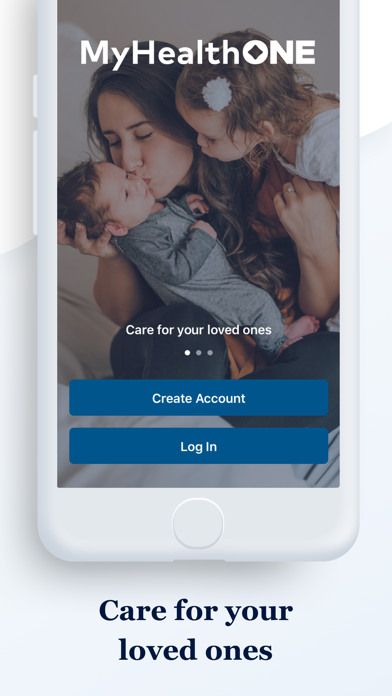 messages.download MyHealthONE software