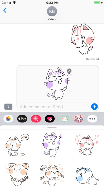 Scribbley Kitties screenshot-3