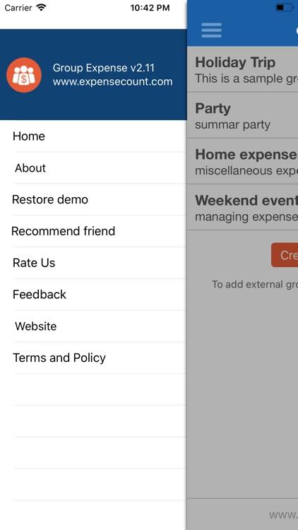 Group Expense - track & split screenshot-4