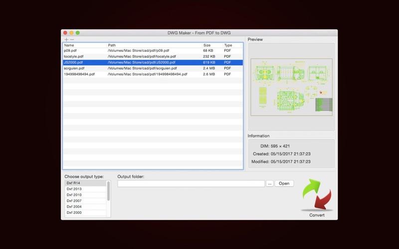 Dwg Import review screenshots