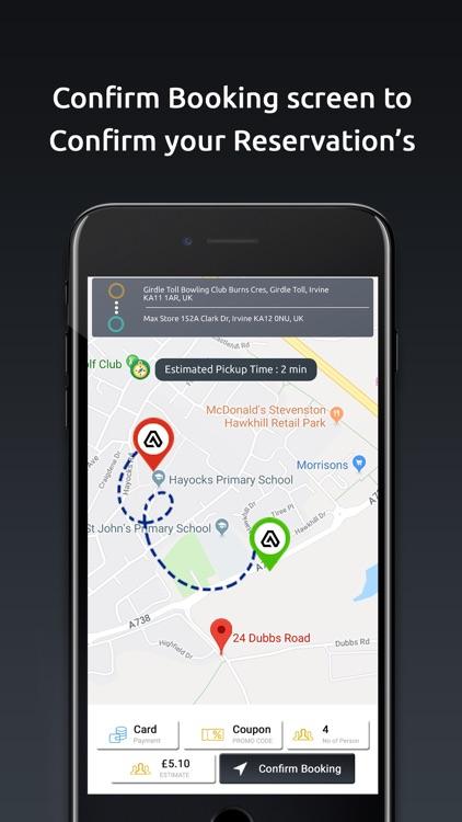 Ayrshire Taxi App