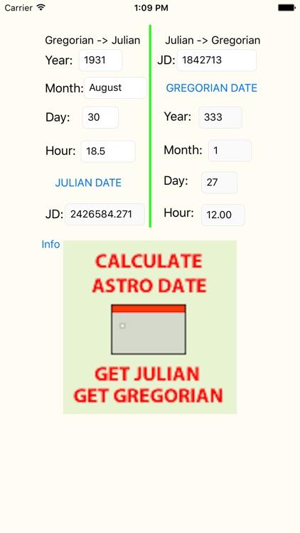 JulianConvert