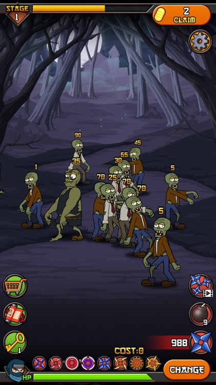 Zombies vs Ninja screenshot-0