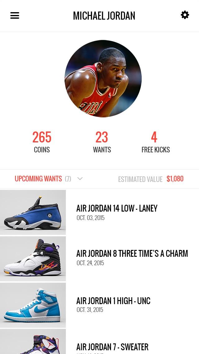KicksOnFire - Shop Sneakers Screenshot