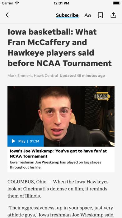 Hawk Central Screenshot on iOS