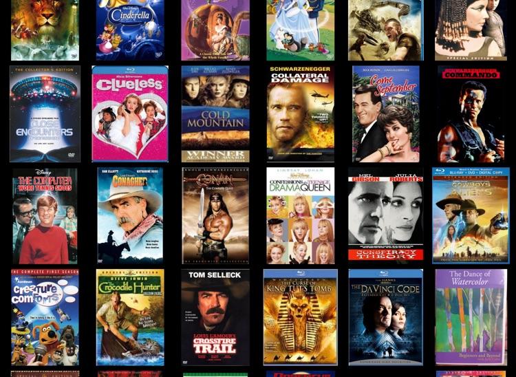 Movie Database Blu-ray 4K DVD