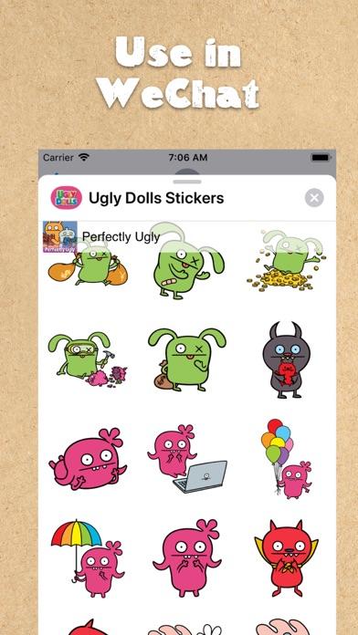 UglyDolls Stickersのおすすめ画像5