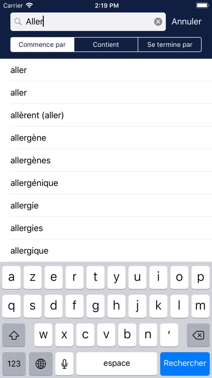 Multidictionnaire screenshot-0
