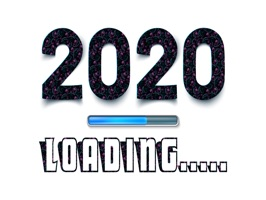 New Year 2020 Stickers